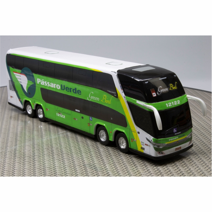 Ônibus Miniatura Viação Pássaro Verde DD