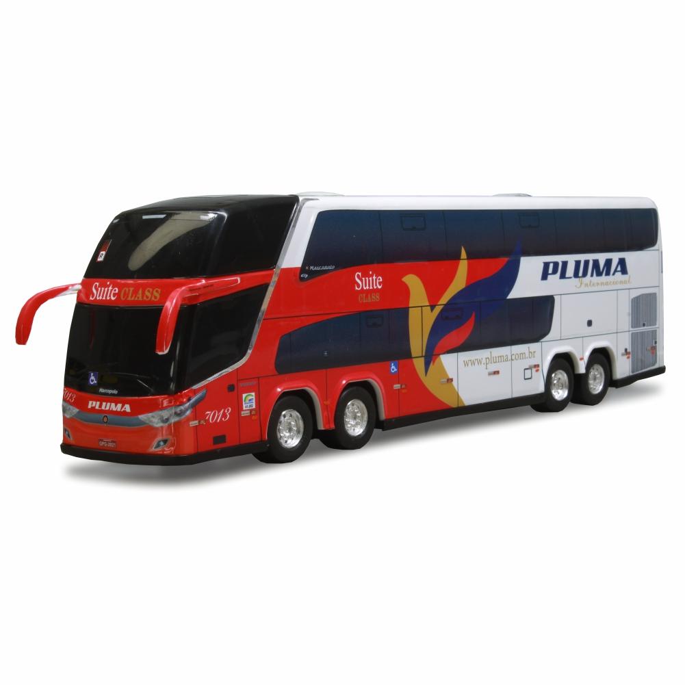 Ônibus Miniatura Viação Pluma DD