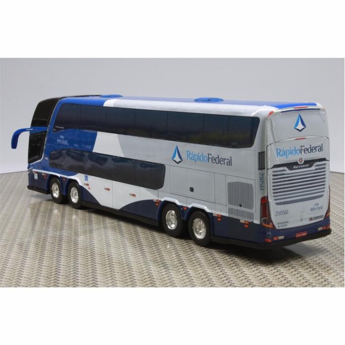 Ônibus Miniatura Viação Rápido Federal DD
