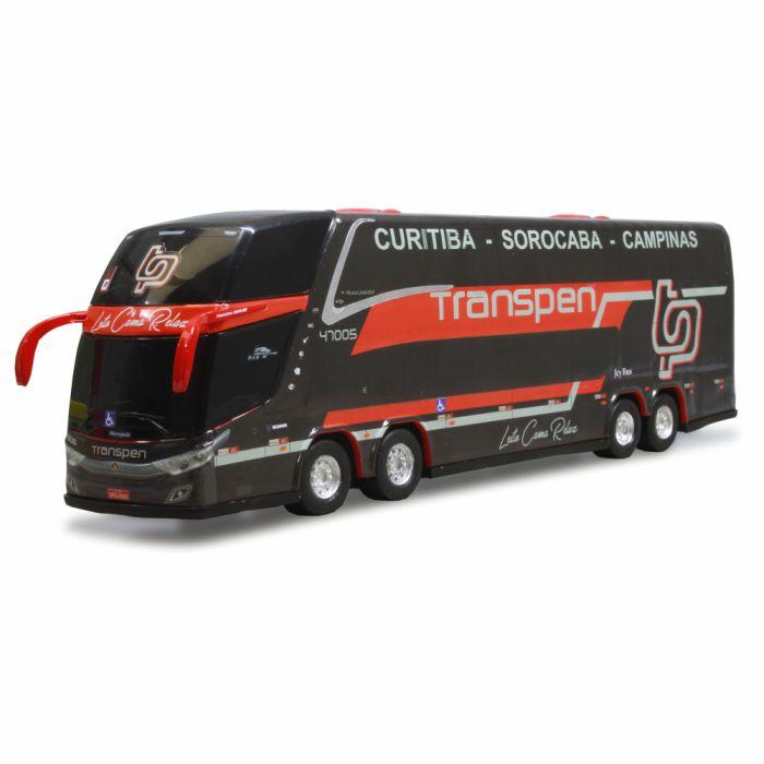 Ônibus Miniatura Viação Transpen Dd New G7