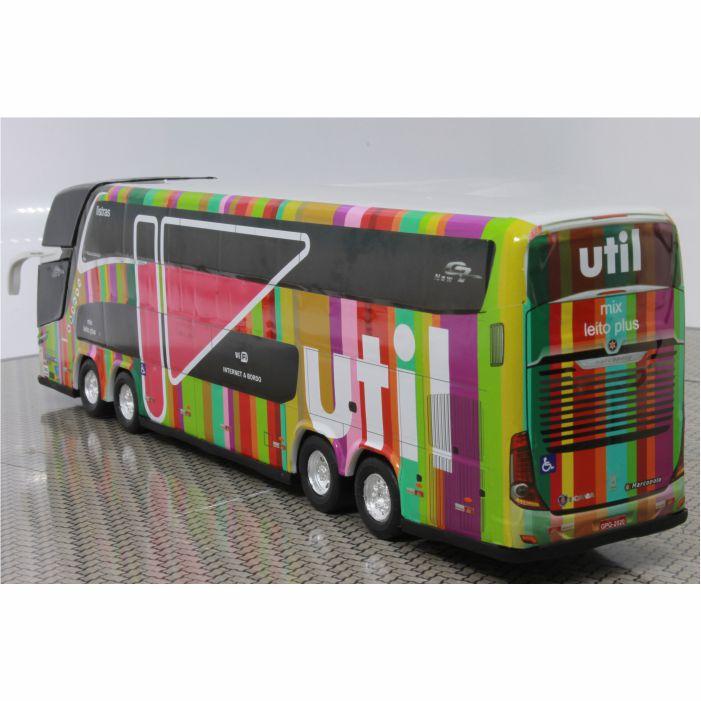 Ônibus Miniatura Viação Util 1800 Dd G7