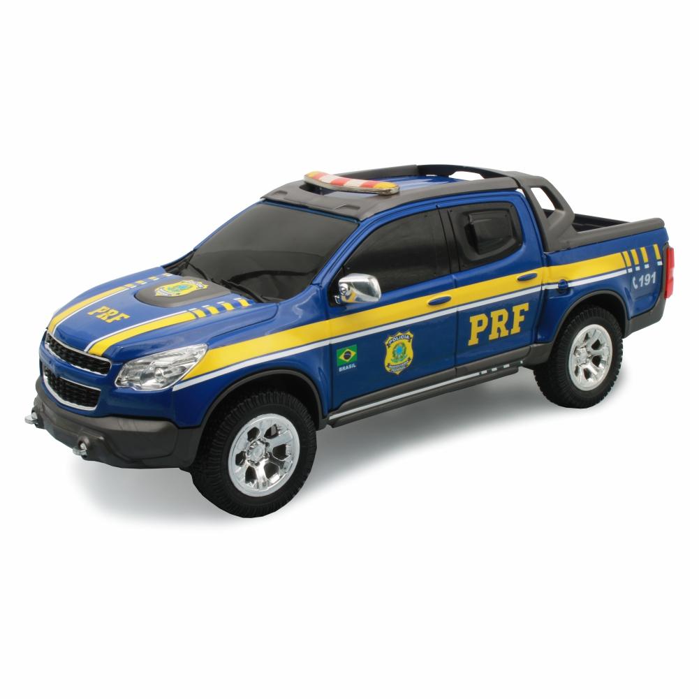 Viatura em Miniatura S10 Polícia Rodoviária Federal PRF