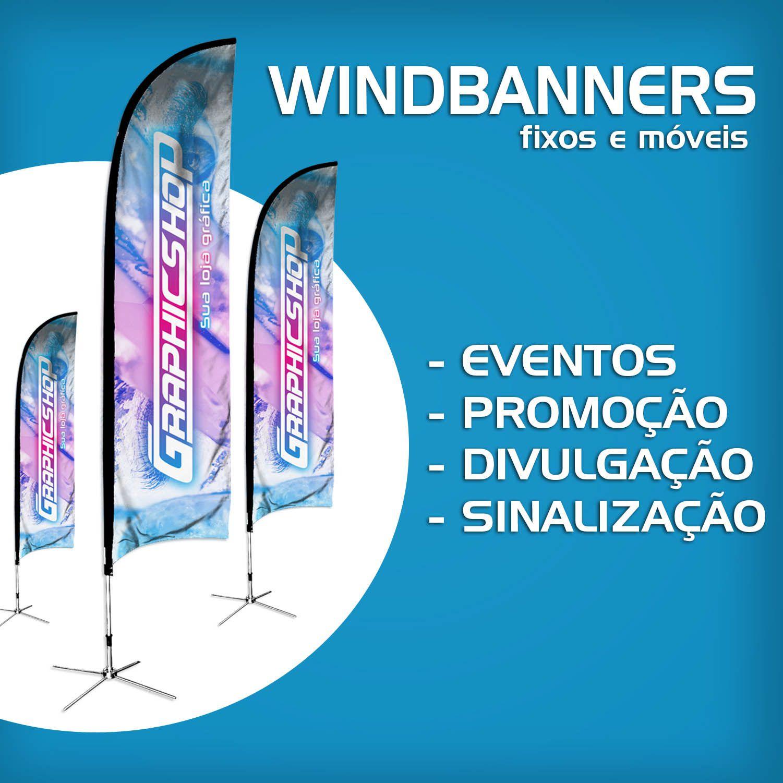 Wind Banner Flag Banner Fly Banner 3 M
