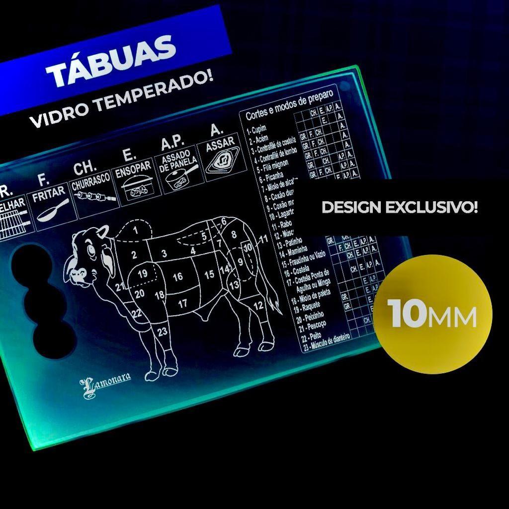 TÁBUA PARA CORTE DE CARNE E QUEIJO 40CM X 27CM