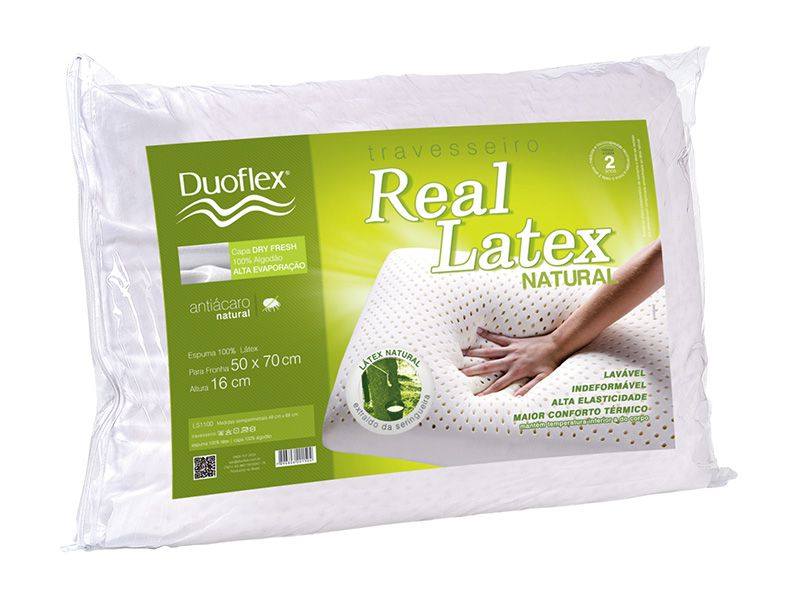 Travesseiro Real Látex