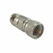 Adaptador de Conversao Reto UHF-Mini Macho x TNC Femea Klc-25