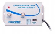 Amplificador de Linha de TV 20dB de Ganho AL-20 - Aquário
