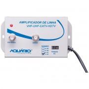 Amplificador de Linha de TV 35dB de Ganho AL-35 - Aquário