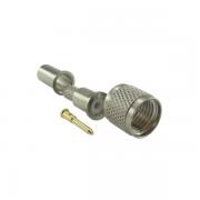 Conector UHF-Mini Macho Reto Crimpagem Rg/Rgc-58 KM-2M (Mini Mot