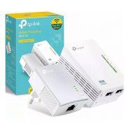 Extensor De Alcance Tp-link Powerline Tl-wpa4220 Kit Wifi 300mbps