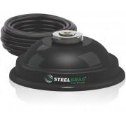 SUPORTE MAGNETICO Para ANTENA MOVEL WHIP STEELBRAS - AP2080