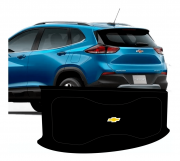 Tampão Automotivo Chevrolet Nova Tracker 2021 Grafite