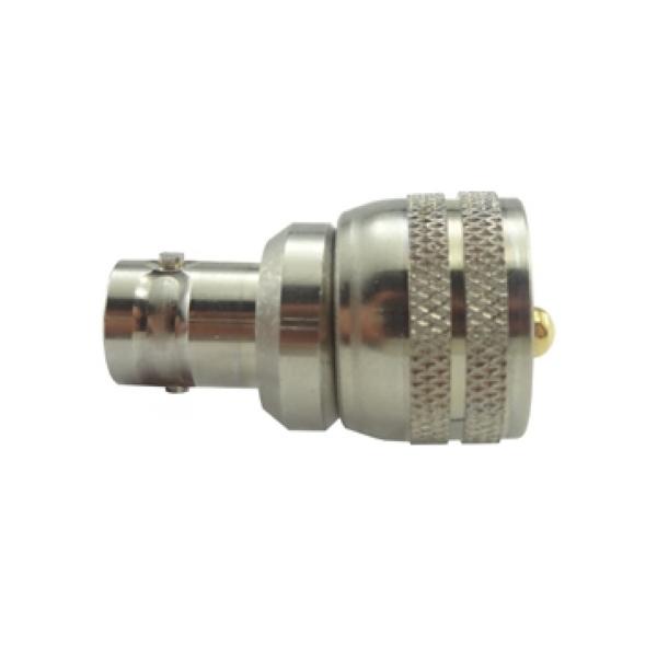 Adaptador de Conversao Reto UHF Macho x BNC 50 Ohms Femea KLC-4