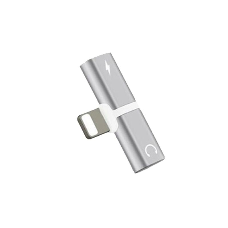 Adaptador Lightning 2 em 1 para IPhone