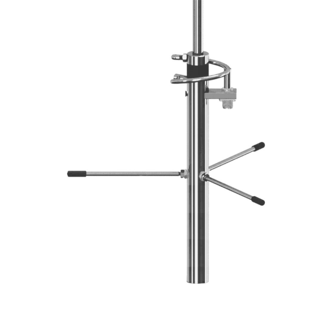 Antena Base UHF 2x5/8 de Onda 6dB Steelbras - AP4249
