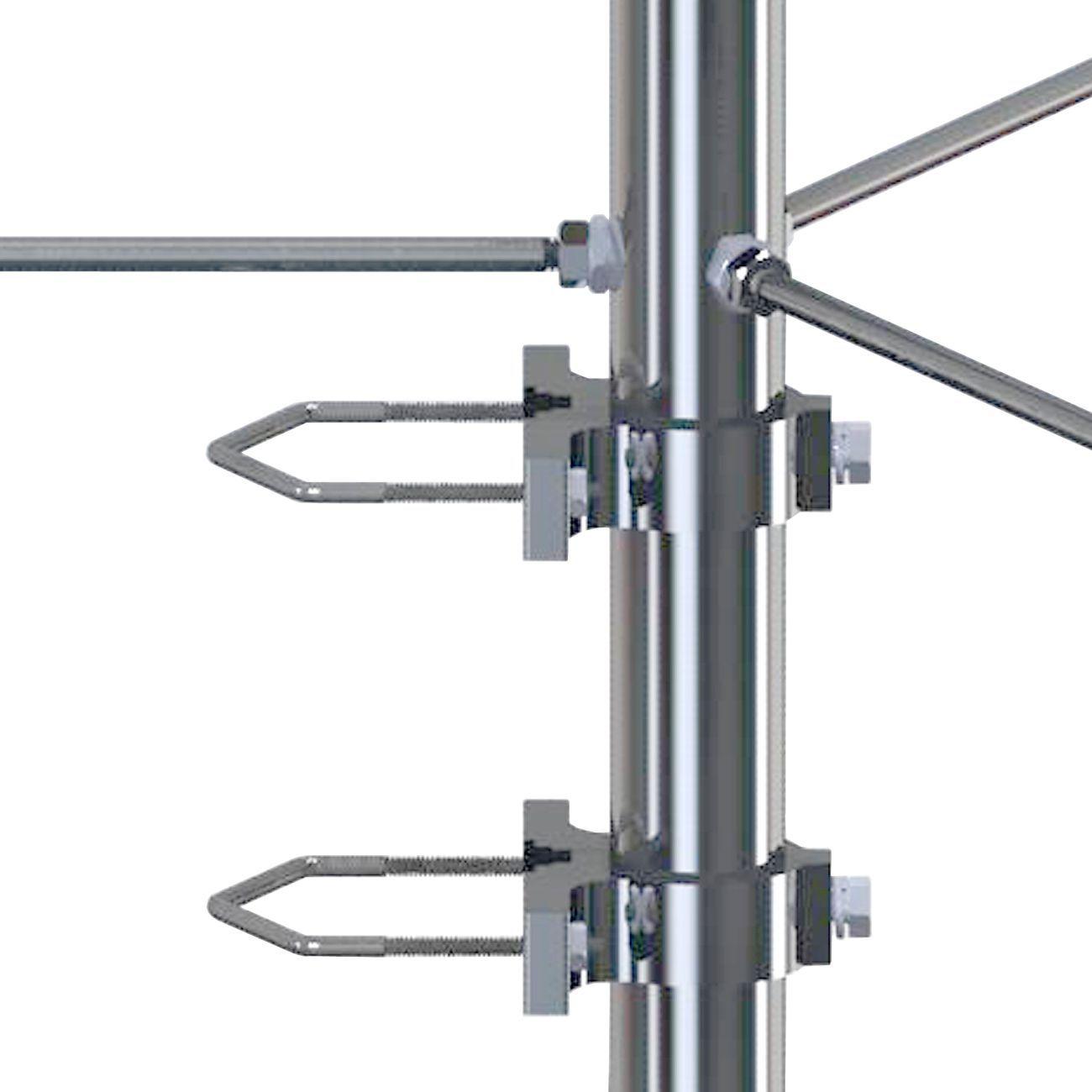 Antena Base UHF 5/8 de Onda 3dB Steelbras - AP1249