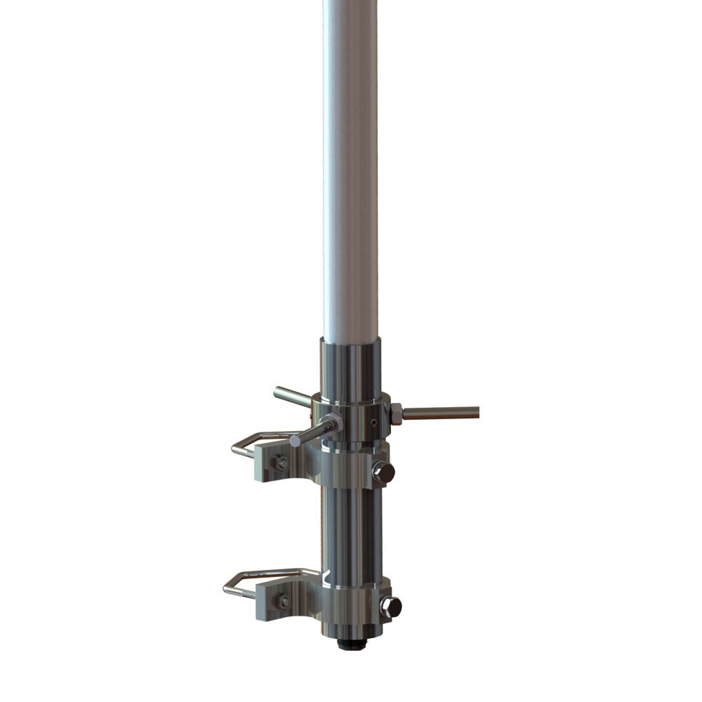 ANTENA BASE UHF 6DB COM RADIAIS – 824 A 894 MHZ - AP10250
