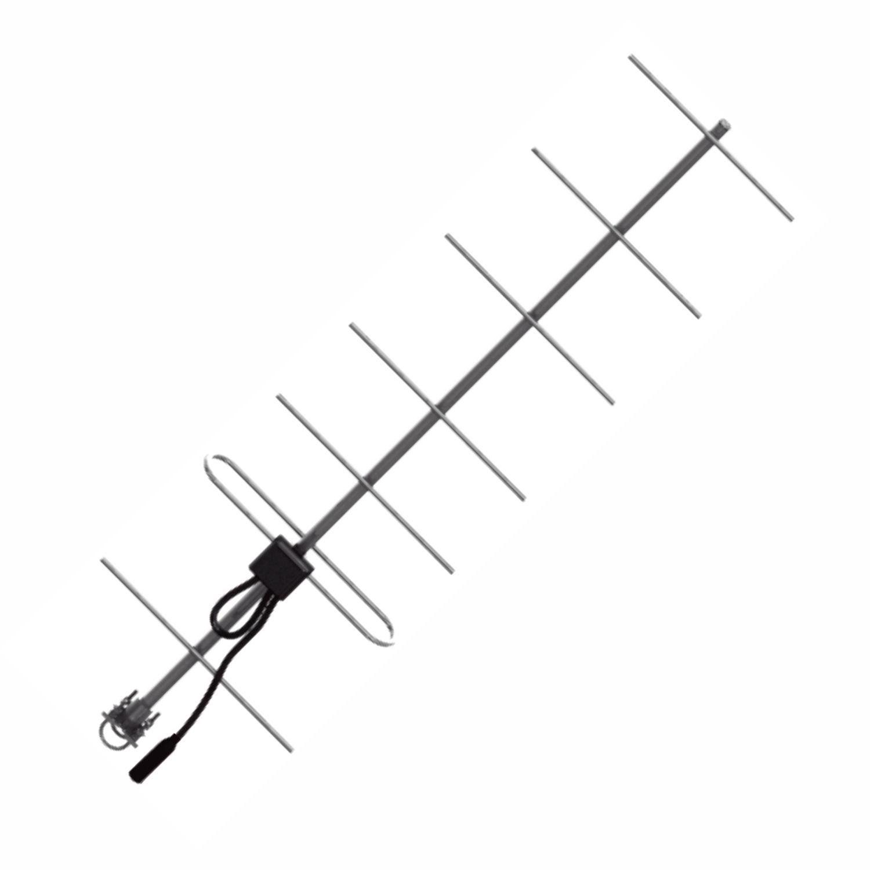 ANTENA BASE UHF DIRECIONAL YAGI 7 ELEMENTOS 420-470 MHZ - AP20105