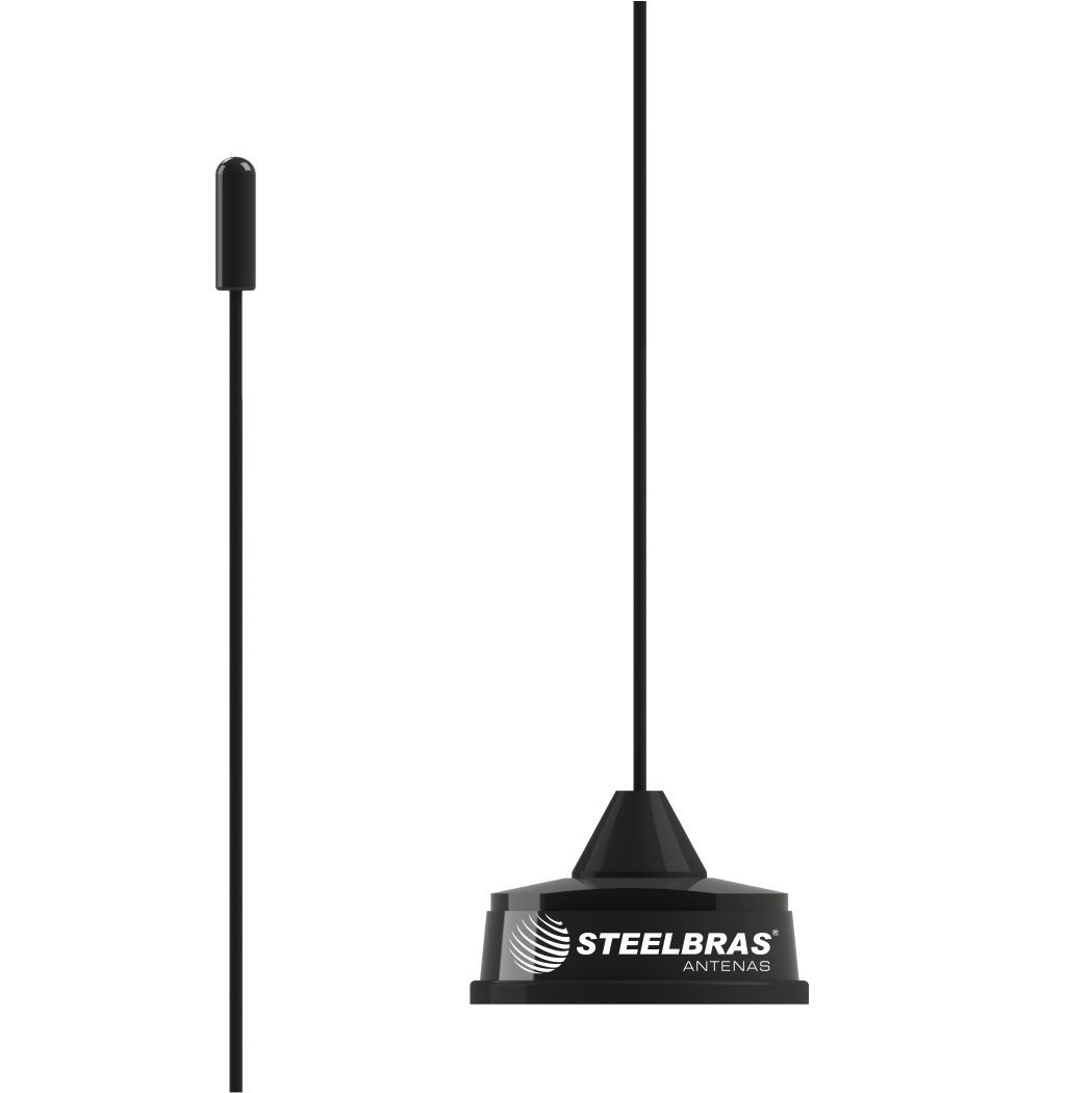 Antena Móvel VHF 1/4 de Onda WHIP Conec Mini Mot - AP2966