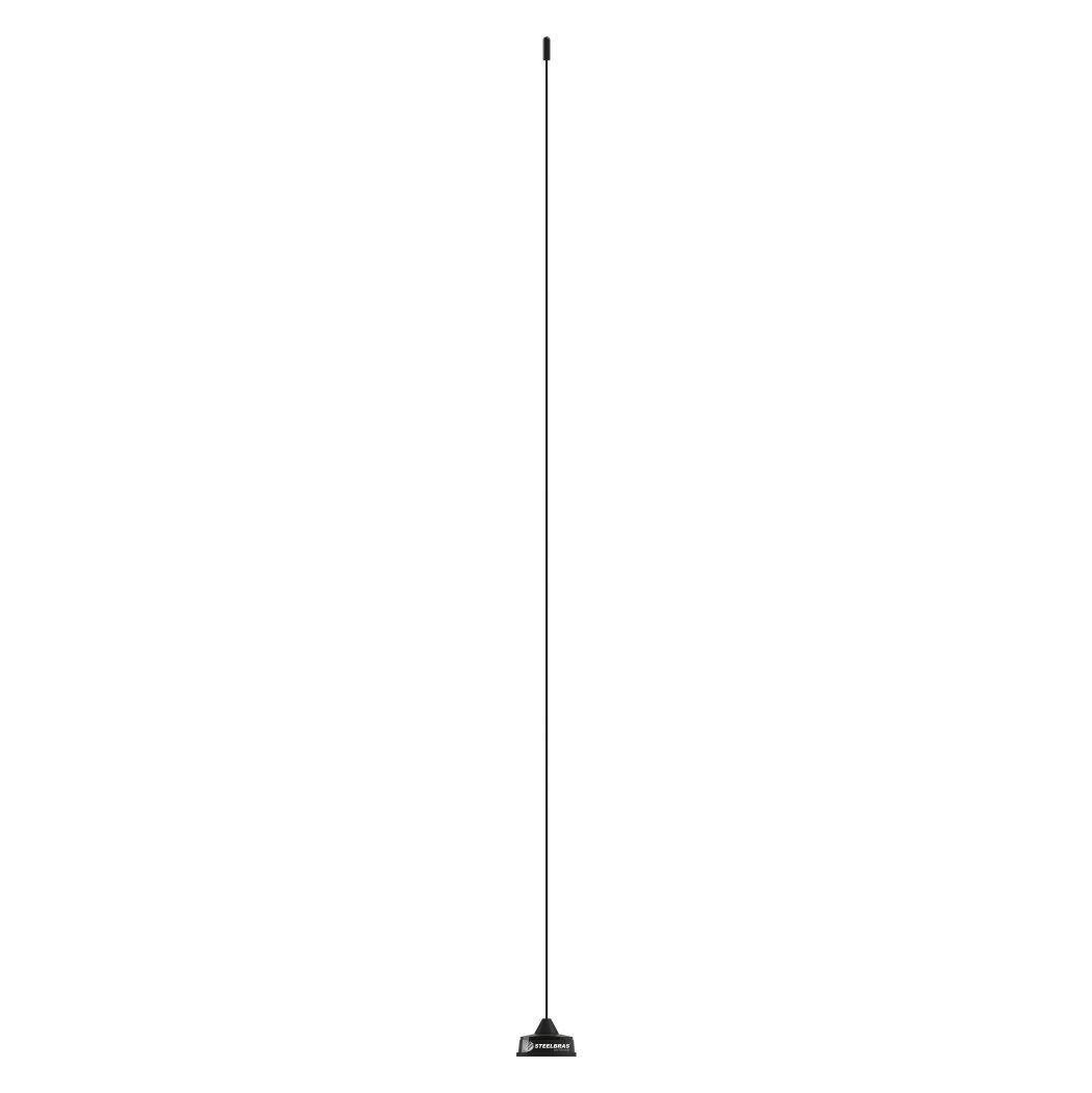 Antena Móvel VHF e UHF 1/4 de Onda Base Whip Conec UHF - AP2946