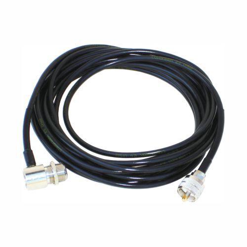 CABO COAXIAL COM 3,5m CONECTORES UHF MACHO E CACHIMBO - AP4576