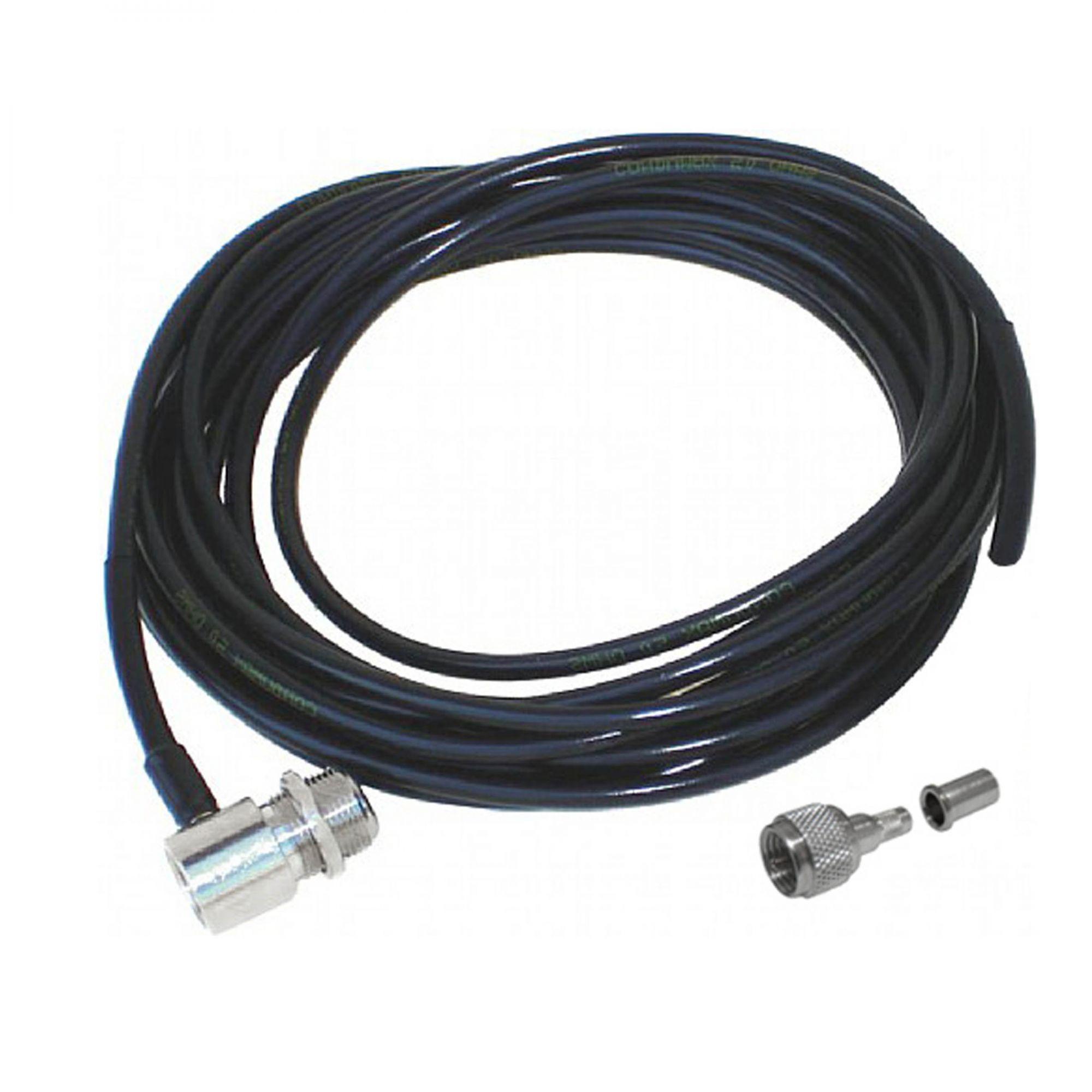 Cabo Coaxial Com Conector UHF Fêmea/Mini UHF Macho 5,475mm - AP1673