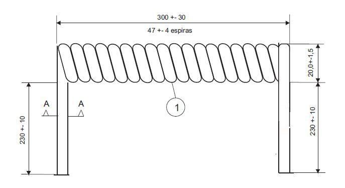 Cabo Espiral de 5 Vias Steelbras - AP3363
