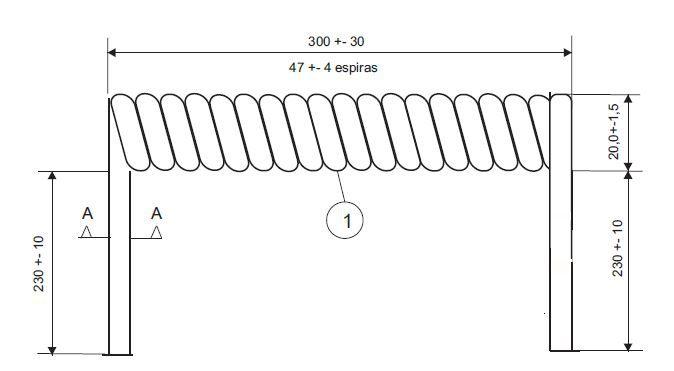 Cabo Espiral de 8 Vias Steelbras - AP4149