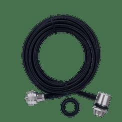 Cabo RG58 5,5m Conector UHF Macho M-802K - Aquario