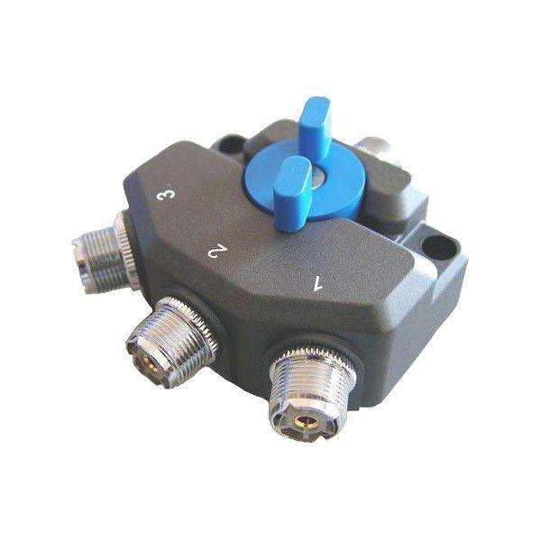 Chave Coaxial de Antenas 3 posições SOUNDY SDY-103