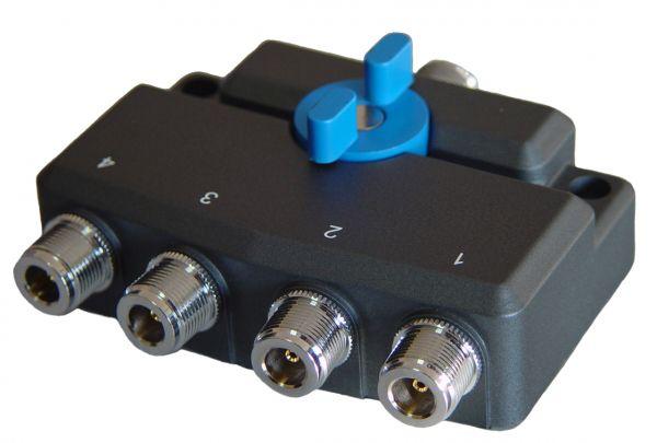 Chave Coaxial de Antenas 4 posições SOUNDY SDY-104