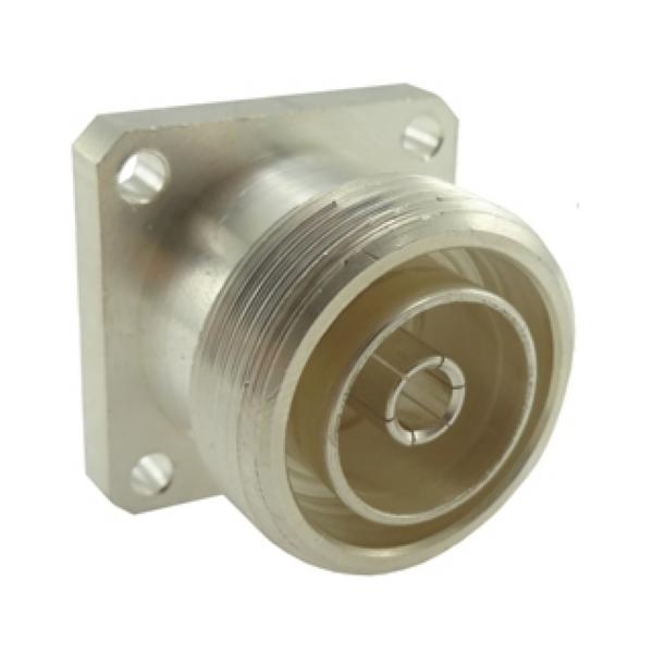 Conector DIN 7/16 Fêmea Reto Painel Quadrado 5044