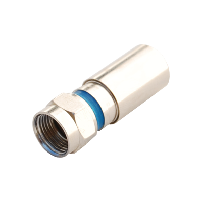 Conector F Compressão RG6