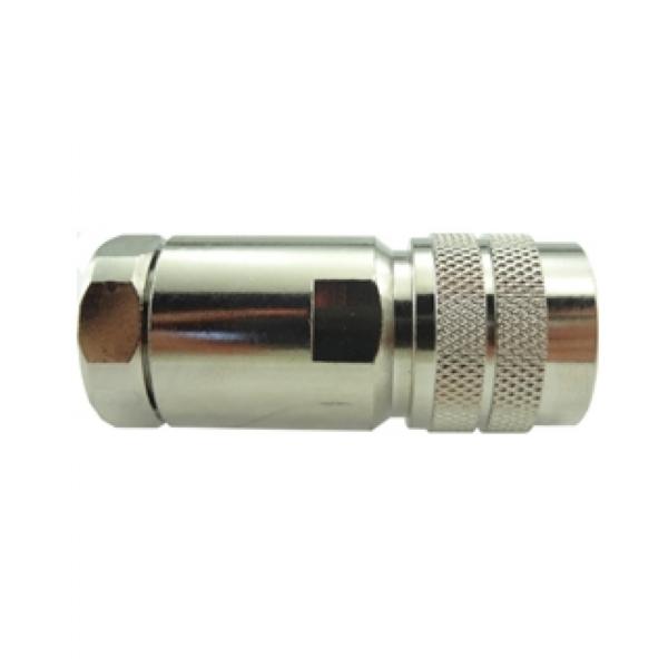 Conector N 50 Ohms Macho 1/2''' Flexível CM-73
