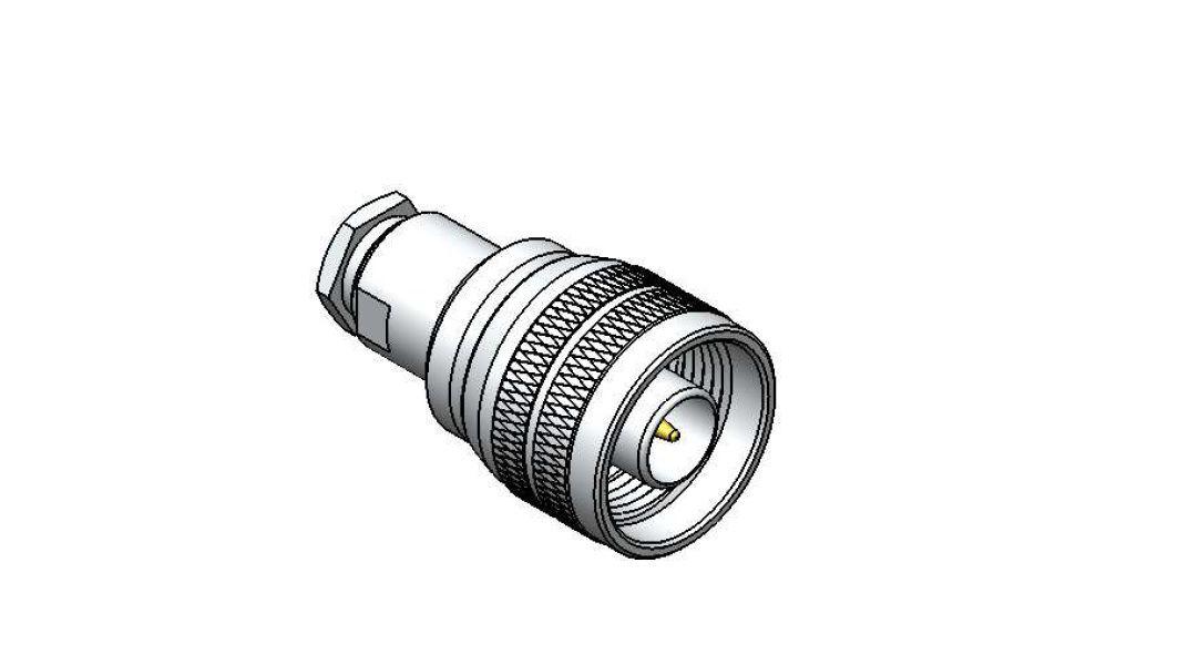 Conector N Macho Reto RG58 Steelbras - AP3730