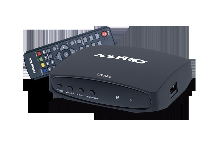 Conversor e Gravador Digital Full HD DTV-7000S - Aquario