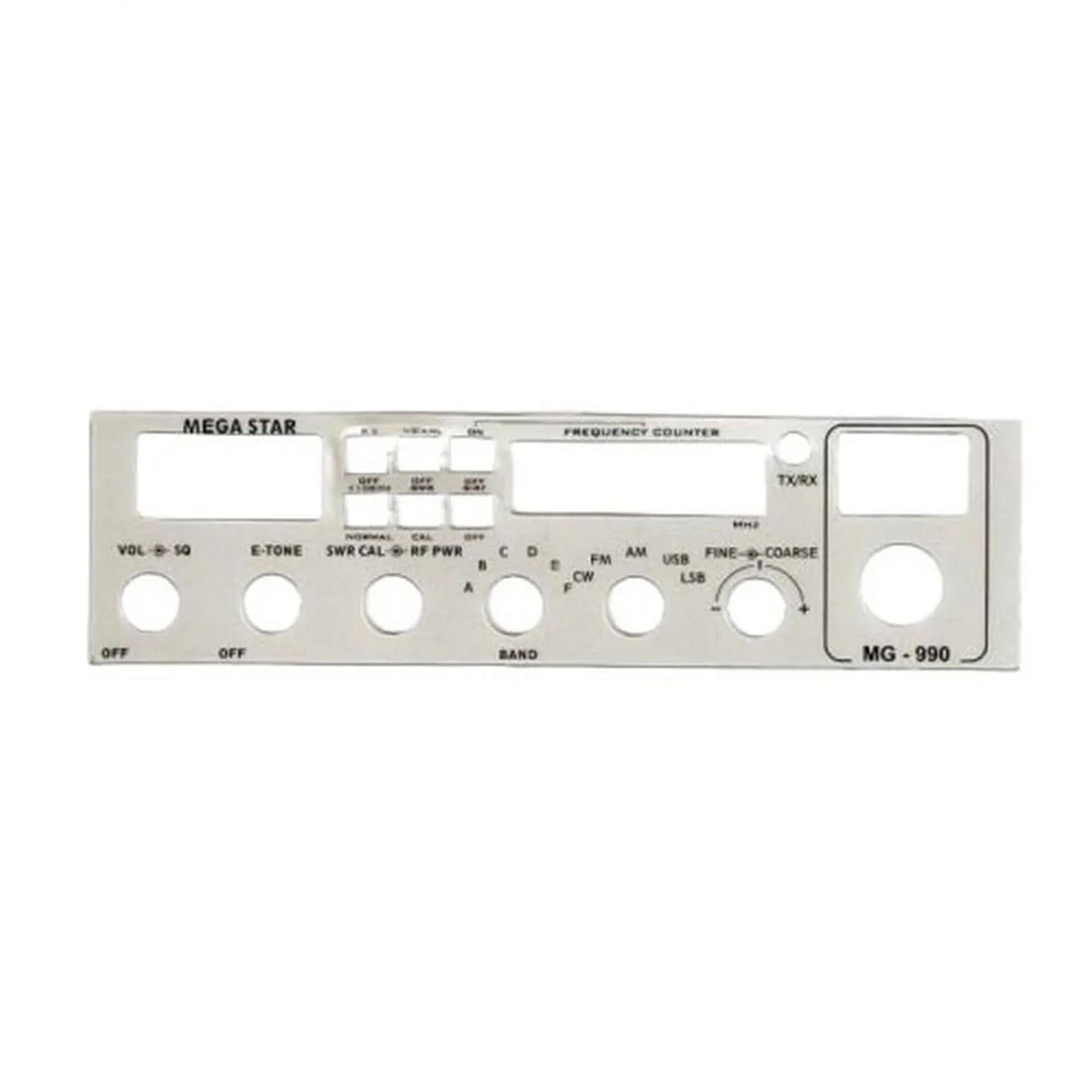 Frente Rádio PX MG 990 Steelbras - AP3084