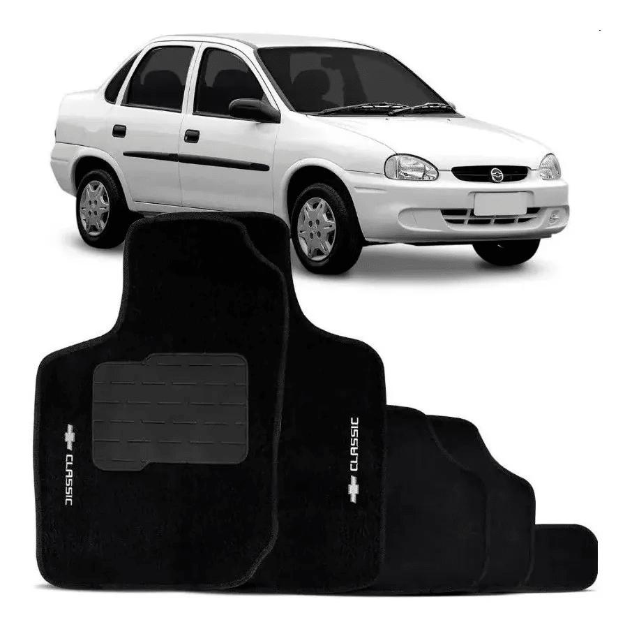 Jogo De Tapete Carpete Chevrolet Corsa 2002 à 2012 5 Peças