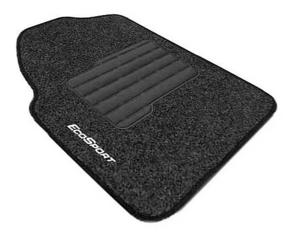 Jogo De Tapete Carpete Chevrolet Ford Ecosport 2013 à 2020 5 Peças