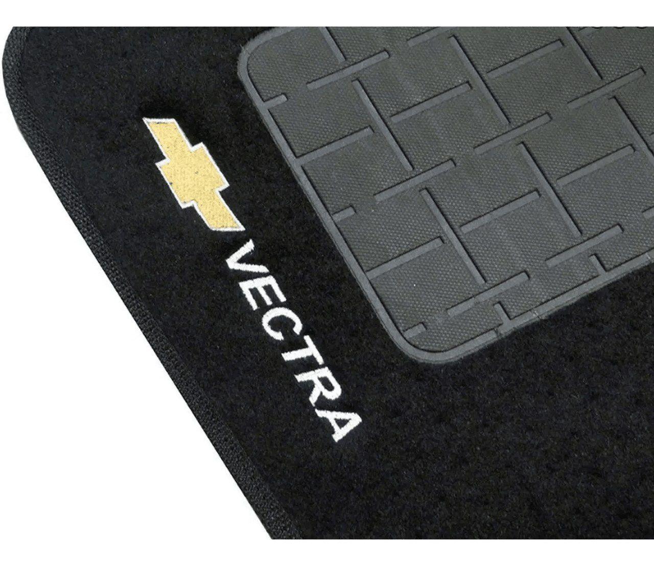Jogo De Tapete Carpete Chevrolet Vectra 1997 à 2005 5 Peças
