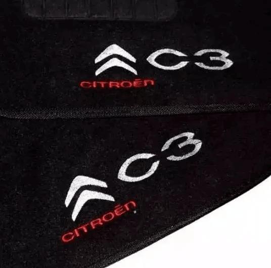 Jogo De Tapete Carpete Citroen C3 2003 à 2012 5 Peças