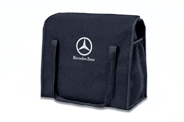Kit Bolsa Organizadora Porta Malas e Necessaire Porta Luvas Mercedes-Benz