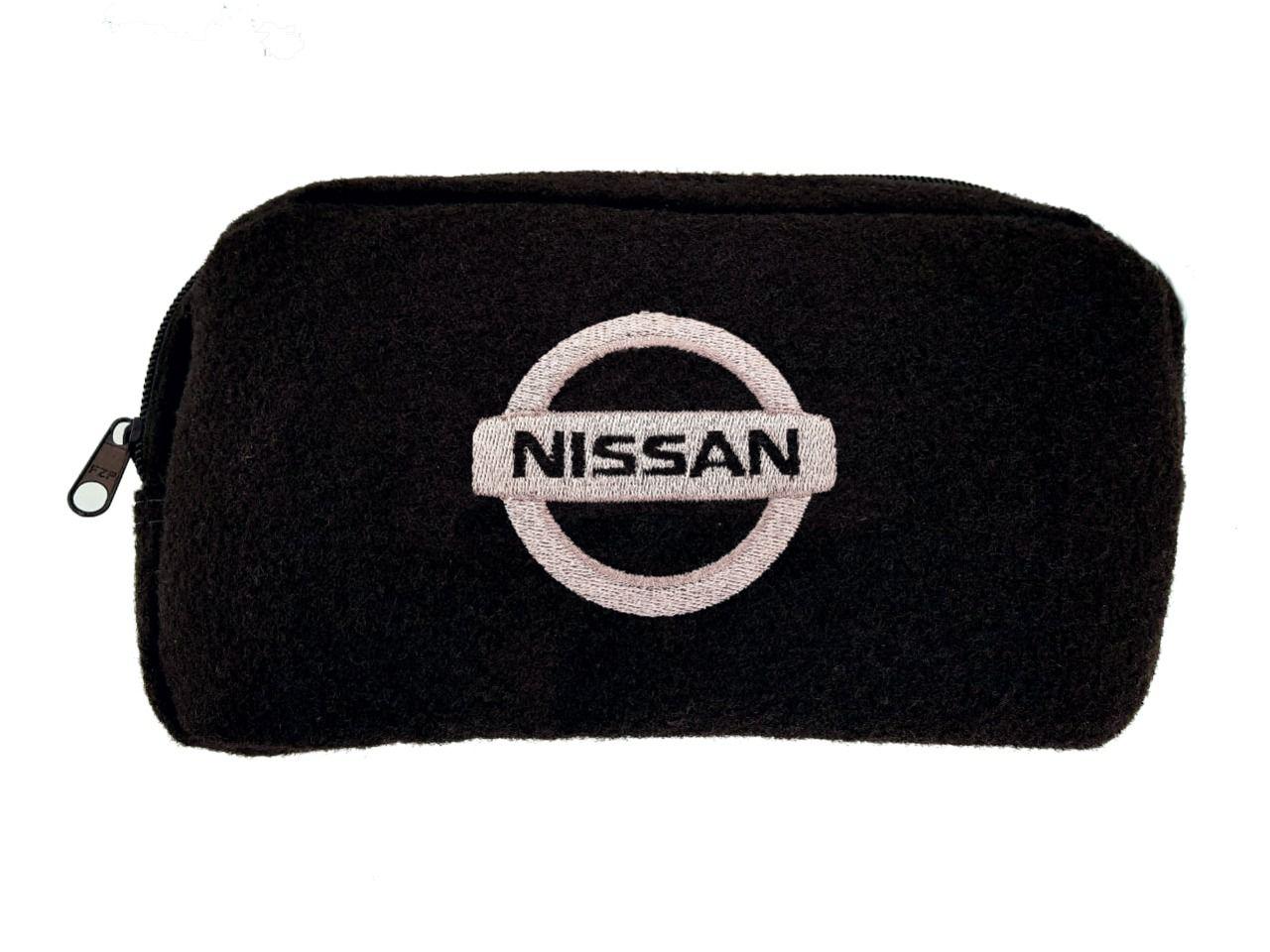 Kit Bolsa Organizadora Porta Malas e Necessaire Porta Luvas Nissan