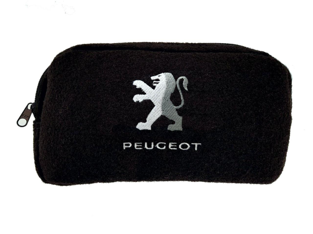Kit Bolsa Organizadora Porta Malas e Necessaire Porta Luvas Peugeot