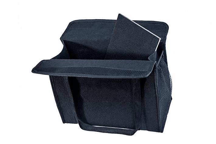Kit Bolsa Organizadora Porta Malas e Necessaire Porta Luvas TSI