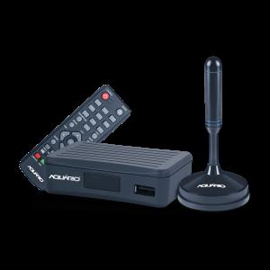 Kit Conversor e Gravador Digital com Antena Interna DTV-4100 - Aquario