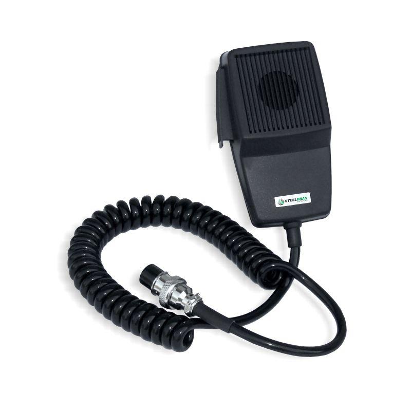 Microfone 4 pinos (PTT) Steelbras - AP5554