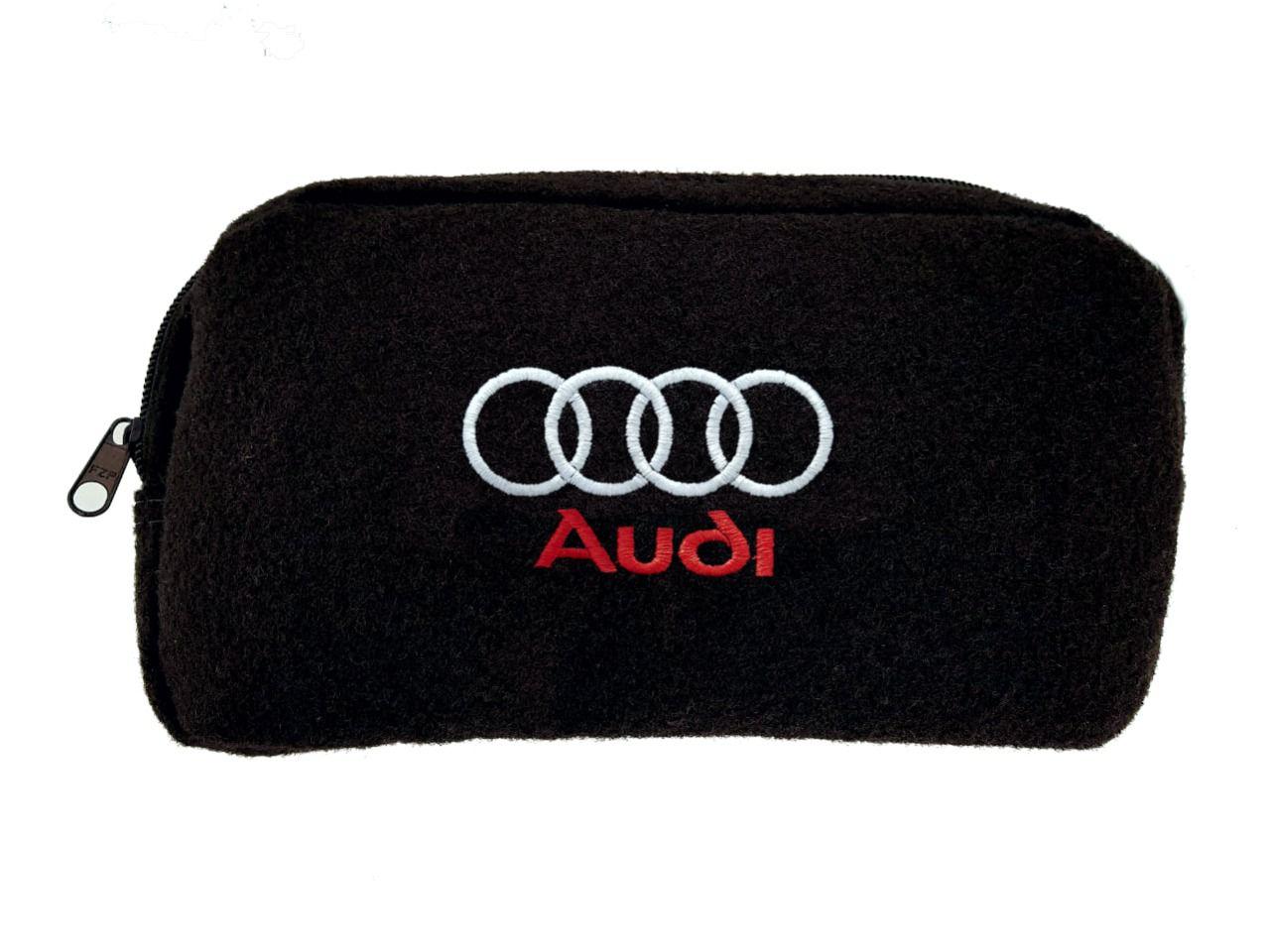 Necessaire Ziper Organizadora Porta Luvas Audi