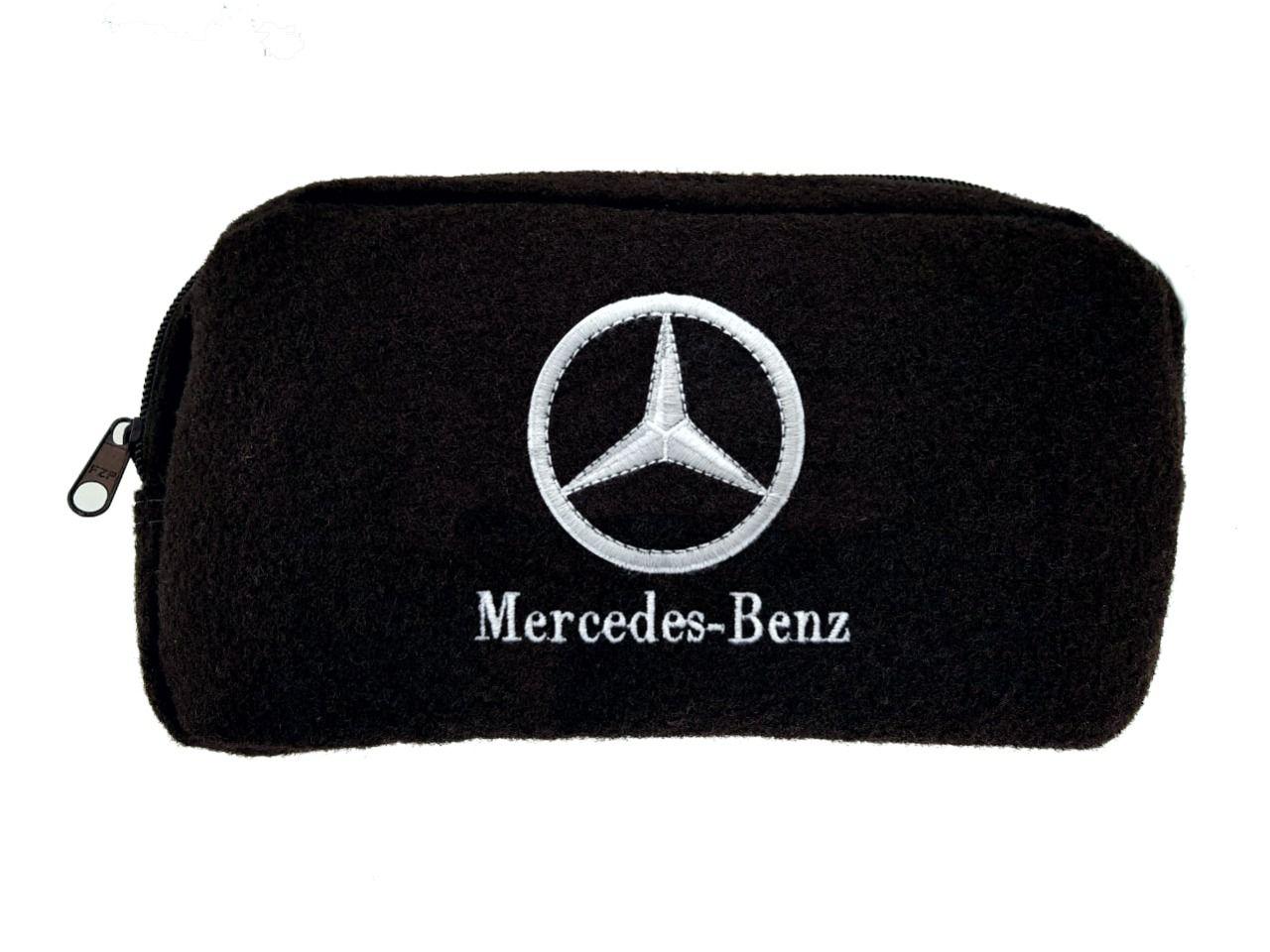 Necessaire Ziper Organizadora Porta Luvas Mercedes-Benz