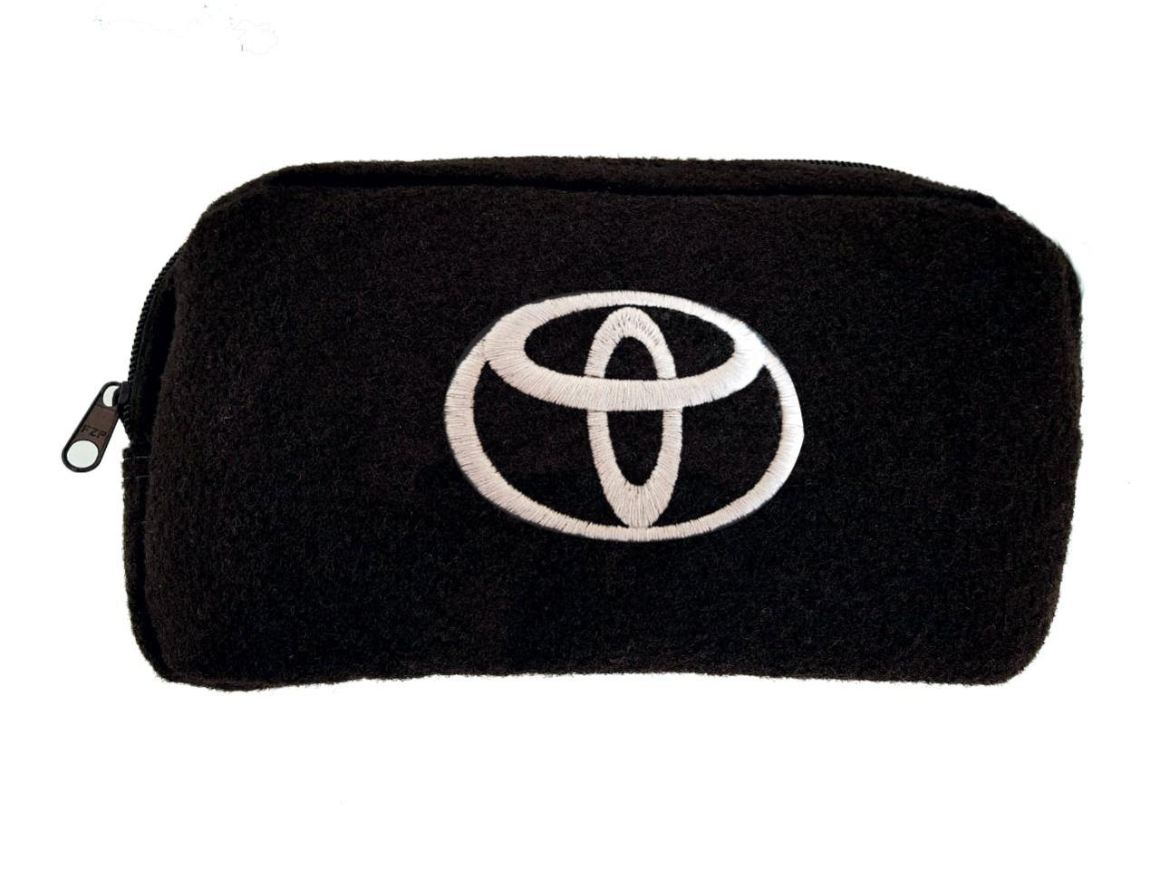 Necessaire Ziper Organizadora Porta Luvas Toyota